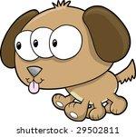 alien dog vector illustration | Shutterstock .eps vector #29502811
