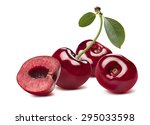 3 Sweet Cherries And Half...