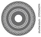 Mandala In Esoteric Style. Set...
