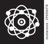 atom  icon | Shutterstock .eps vector #295056578