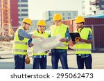 business  building  teamwork ... | Shutterstock . vector #295062473
