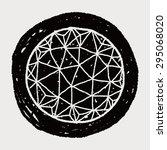 globe doodle | Shutterstock . vector #295068020