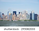 building and skyline of... | Shutterstock . vector #295082033
