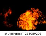 fire flame background | Shutterstock . vector #295089203