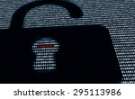 cyber protection lock and... | Shutterstock . vector #295113986