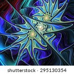 Fractal Illustration Backgroun...