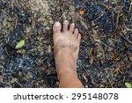 dirty feet | Shutterstock . vector #295148078