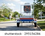 police mobile radar speed... | Shutterstock . vector #295156286