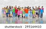 Group Kids Children Diverse...