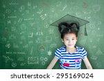 Happy Asian School Child Girl...