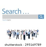 search browse find internet...   Shutterstock . vector #295169789