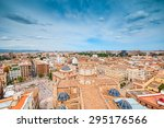 aerial view of valencia  spain | Shutterstock . vector #295176566