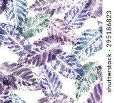 vector seamless watercolor... | Shutterstock .eps vector #295186823