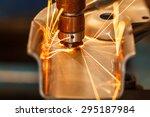 industrial welding automotive... | Shutterstock . vector #295187984