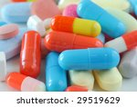 extreme close up of medical... | Shutterstock . vector #29519629