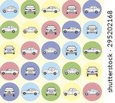 cars pattern | Shutterstock . vector #295202168