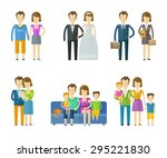 people  folk vector logo design ... | Shutterstock .eps vector #295221830