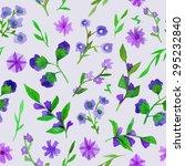 watercolor seamless pattern... | Shutterstock .eps vector #295232840