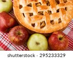 apple pie  pie  apple. | Shutterstock . vector #295233329