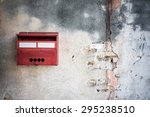 postbox mounted in a cotswold... | Shutterstock . vector #295238510