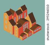 vector illustration of city ... | Shutterstock .eps vector #295246010