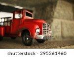 toy firetruck | Shutterstock . vector #295261460