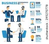 business infographics | Shutterstock .eps vector #295270778