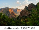 dramatic valley at big bend... | Shutterstock . vector #295275530