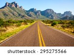 Road Leading To Big Bend...