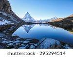 Matterhorn Reflection In...