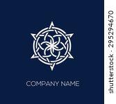 abstract geometrical logo... | Shutterstock .eps vector #295294670