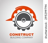 building logo  construction... | Shutterstock .eps vector #295299794