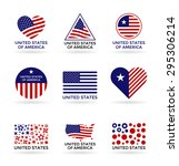 the usa  6  | Shutterstock .eps vector #295306214