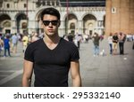 Young Man In San Marco Square...