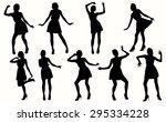 Dancing Women Silhouettes....