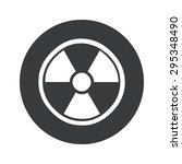 image of radio hazard symbol in ...