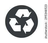 image of recycle symbol in...