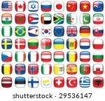 set of world flags. all... | Shutterstock .eps vector #29536147