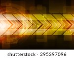 sci fi futuristic user interface | Shutterstock . vector #295397096