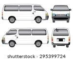 white van | Shutterstock .eps vector #295399724