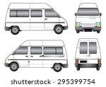 white van | Shutterstock .eps vector #295399754