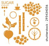 sugar. set. eps10 vector | Shutterstock .eps vector #295434056