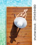 summer holiday fashion concept  ... | Shutterstock . vector #295454480