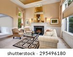 perfect luxurious living room... | Shutterstock . vector #295496180