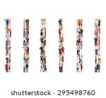 business picture corporate... | Shutterstock . vector #295498760