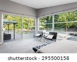 furnished master bedroom in new ... | Shutterstock . vector #295500158