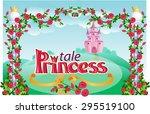 princess frame  | Shutterstock .eps vector #295519100