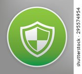 Badge Security Design Icon On...