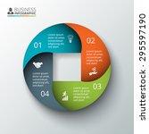 vector circle element for...   Shutterstock .eps vector #295597190