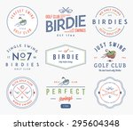 golf badges and labels for any... | Shutterstock .eps vector #295604348